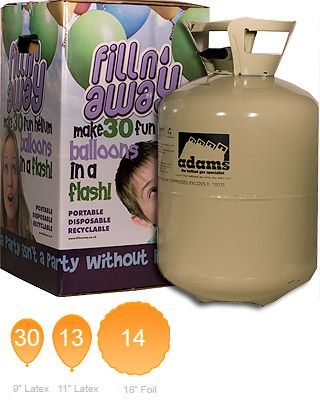 Disposable Helium - Small Disposable Helium Canister Helium Gas Cylinder