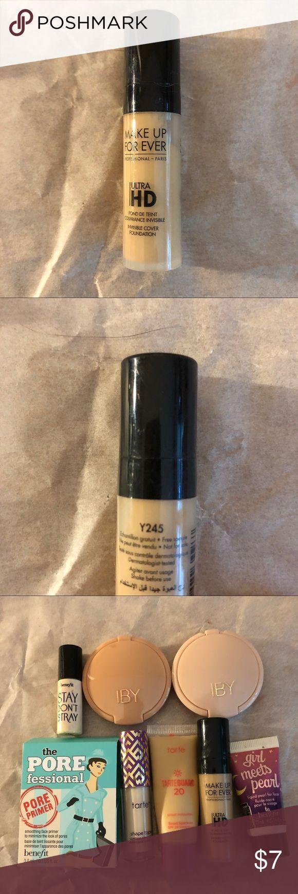 Make Up For Ever Ultra HD foundation sample Make up for
