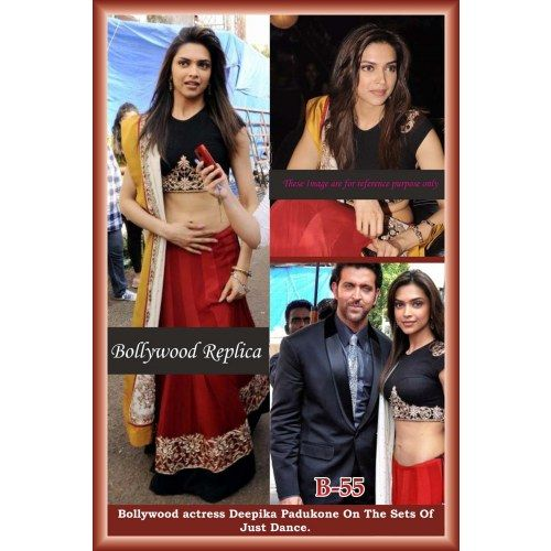 BOLLYWOOD DESIGNER DEEPIKA PADUKON BRIDAL INDIAN SAREE