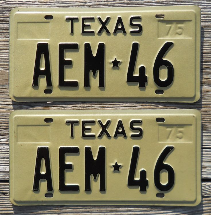 11 best Texas License Plates images on Pinterest | Licence plates ...