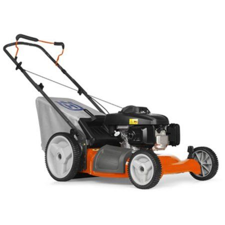 Husqvarna Outdoor Products 7021P 961330019 3-In-1 Push Lawn Mower, High-Wheel, 160cc Engine, 21-In., Multicolor