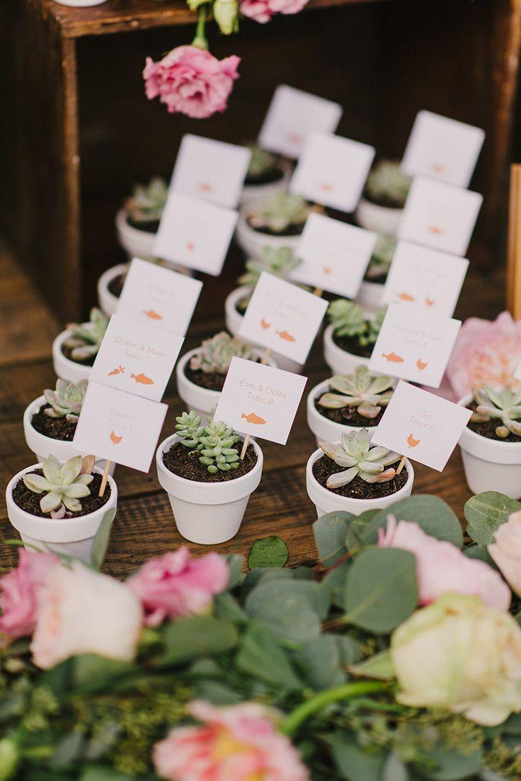 Adorable Miami Wedding With Succulents And Sugar