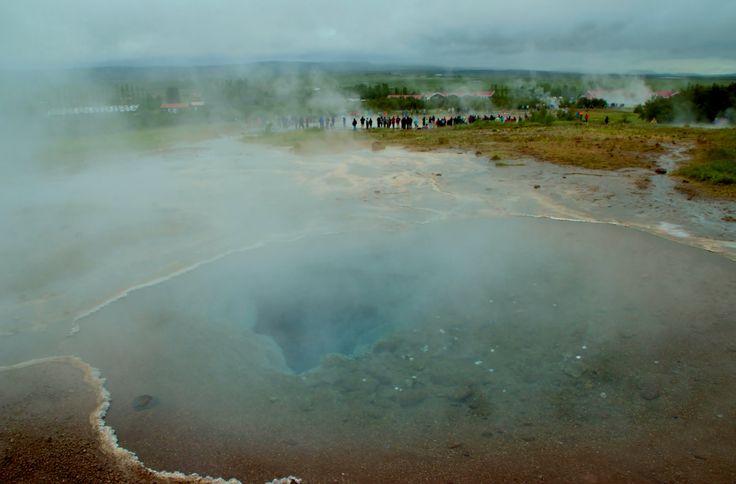 The Blesi Hot Springs,Haukadalur,Iceland