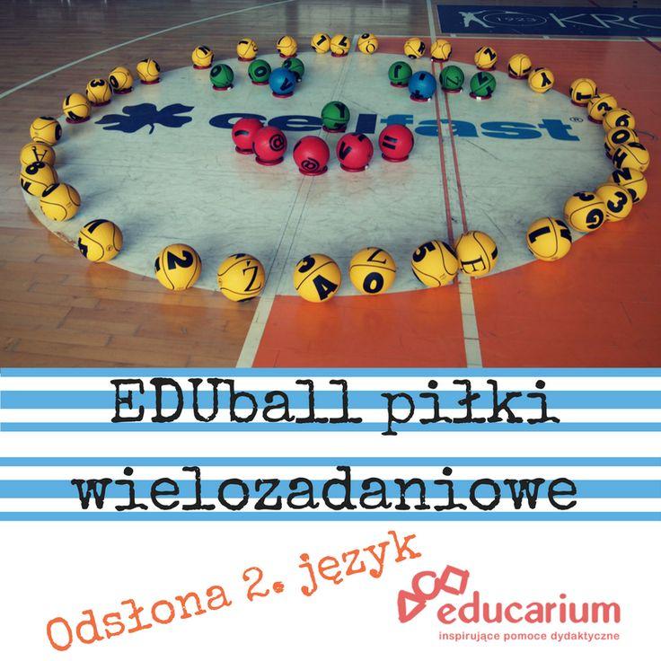 Piłki skaczą, turlają się, dzieci biegają, uczą się i ... do tego EDUball :) Chcesz wiedzieć więcej? Poczytaj w naszym portalu http://www.educarium.pl/index.php/zabawy-jkowe-menu-zabawy-55/487-eduball-i-angielski.html