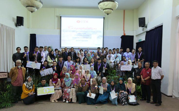 Majlis Anugerah Kecemerlangan Akademik Sempena Konvokesyen UTM ke 57 | Photos