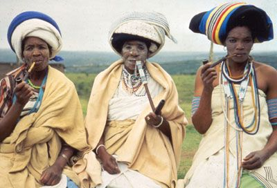 Amampondo, a division of the Xhosa clan