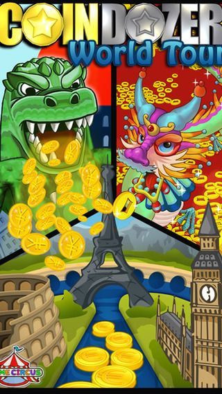 Coin Dozer – World Tour By Game Circus LLC | App Store