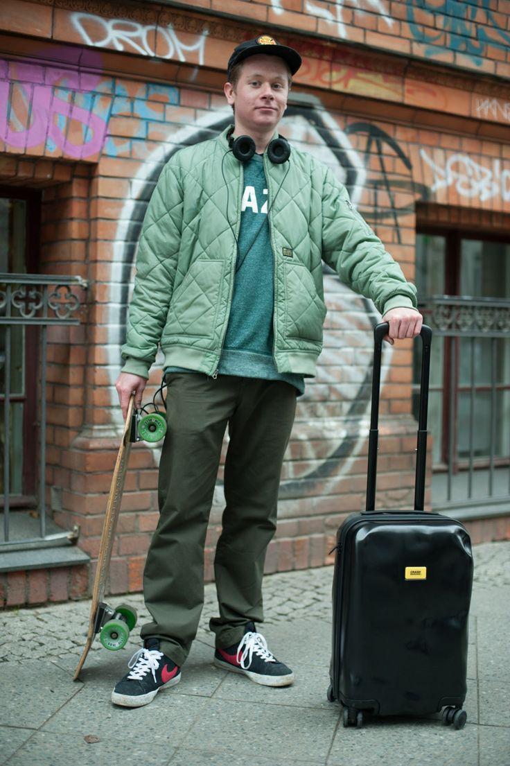 BERLIN FASHION WEEK '14, STREETSTYLE CRASH BAGGAGE