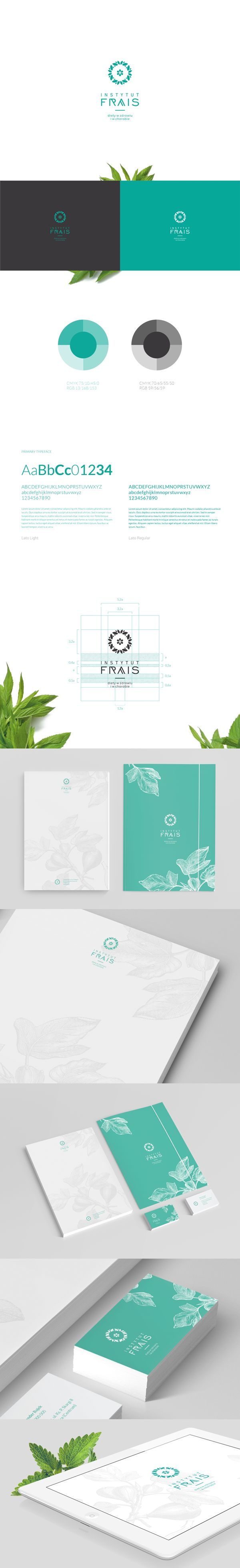 Frais is a dietary studio from Poland. The brand name comes from French and means fresh. Our goal was to design logo and prints.