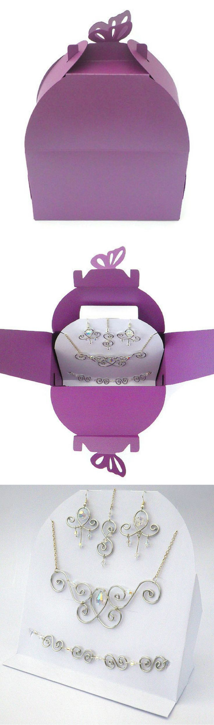 101 best Boxes for weddings and baby showers images on Pinterest ...