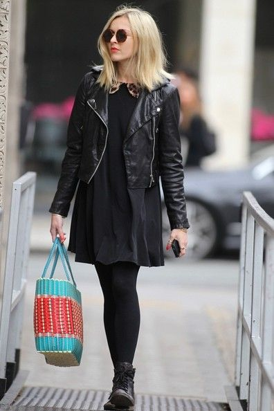 Fearne Cotton Photo - Fearne Cotton in Leather - hair inspo