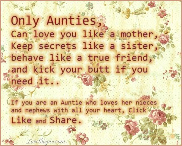 Cute Aunt And Nephew Quotes: Only Aunties Quotes Family Quote Floral Family Quote