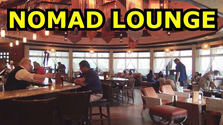 Nomad Lounge & Cocktail Bar - Tiffins Restaurant - Disney's Animal Kingdom