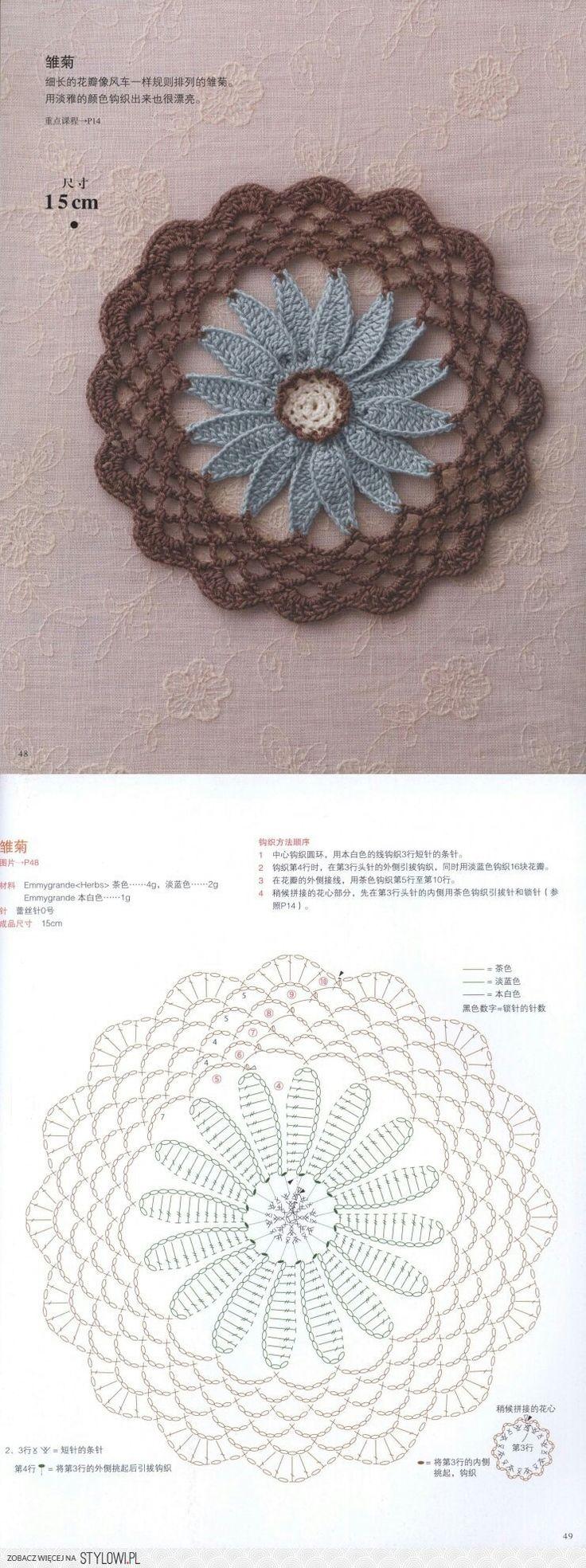 2863 best Bordados y cintas images on Pinterest | Hand crafts ...