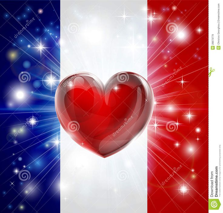 Love France Flag Heart Background Royalty Free Stock Images ...