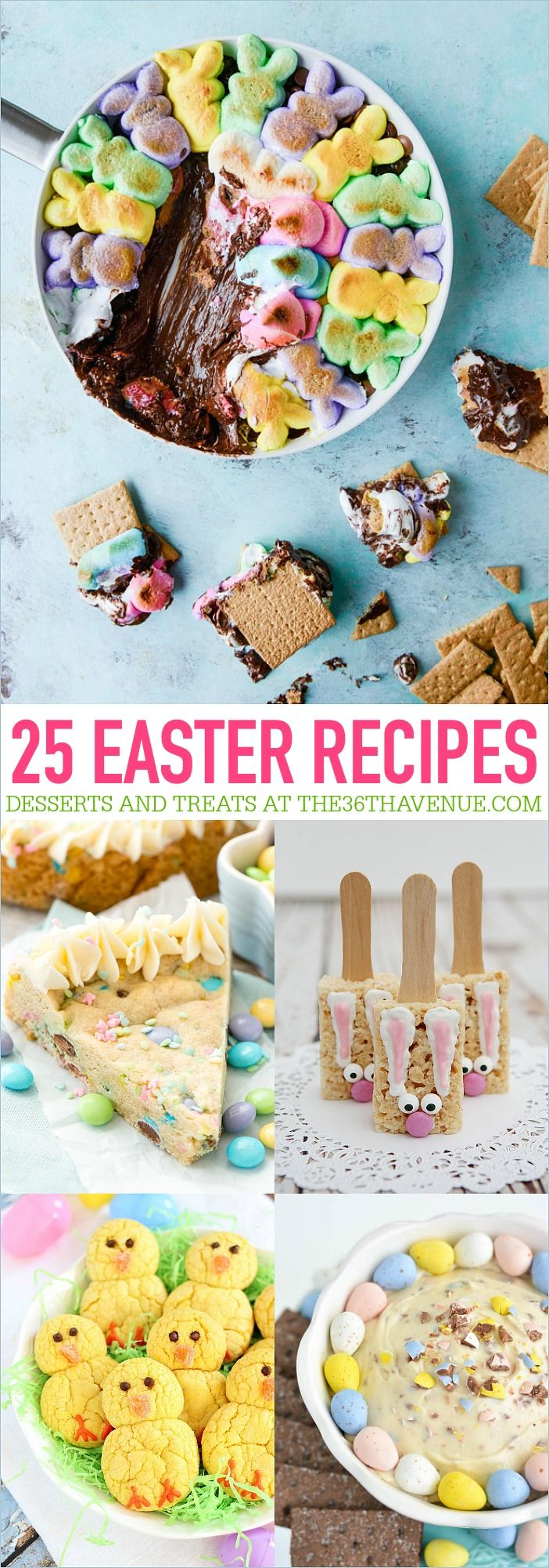 25 Easter Recipes - Easy and delicious Easter Recipes