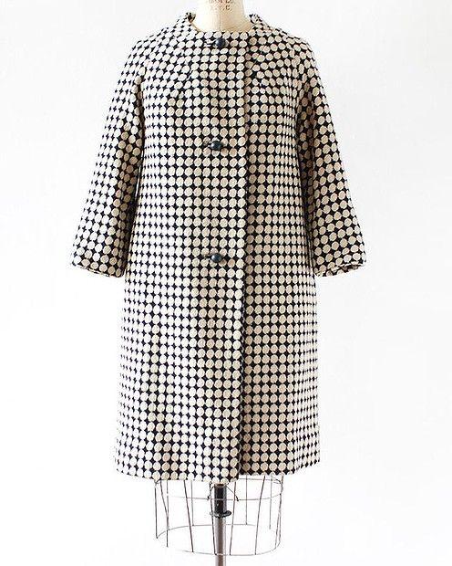 Vintage mod 1960s coat, $131.38 from #LantanaVintage #Etsy