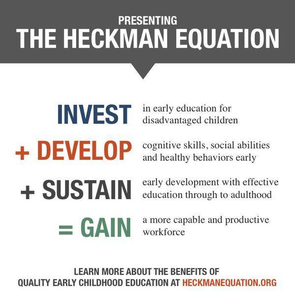Prof. James Heckman (@heckmanequation) | Twitter