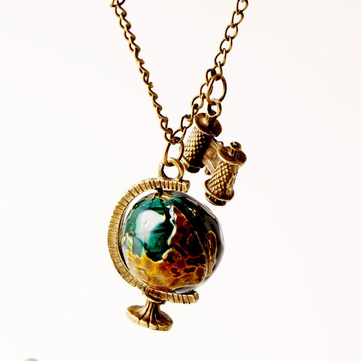 wholesale 2016 vintage New ▼ Fashion suspension Globe Telescope Ball necklaces & ✅ pendants Women Sweater Chain Gifts pendant N268wholesale 2016 vintage New Fashion suspension Globe Telescope Ball necklaces & pendants Women Sweater Chain Gifts pendant N268