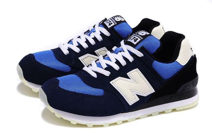 "Mark NB [574] ""nordlys"" Pack Menn blue marine hvit svart{doJtb ..."