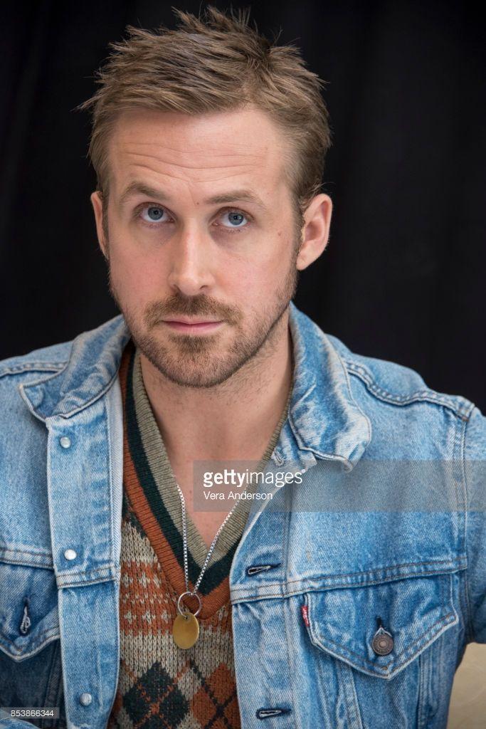 Ryan Gosling Blade Runner Haircut : gosling, blade, runner, haircut, Gosling, 'Blade, Runner, 2049', Press, Conference, Carlton, Marriott, Marquis, Hotel, September, Gosling,, Style,, Blade