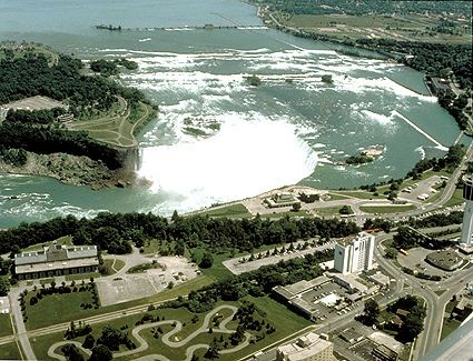 Ontario is Canada's most populous and second-largest province. It stretches from Canada's southernmost point at Middle Island in Lake Erie in the south, to the Manitoba-Ontario border on Hudson Bay in the north, and from the banks of the St. Lawrence River in the east, to the Manitoba border in the west.