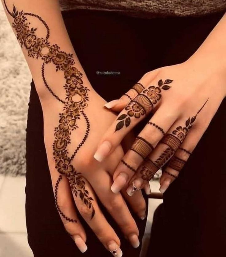 Mehendi Designs Henna Tattoo Hand Mehndi Designs For Fingers Finger Henna Designs