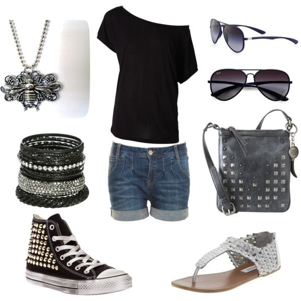 """""""Summer Bonfire Outfit"""" by seversonheather on Polyvore"""