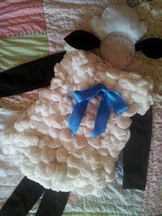 Resultado de imagen para disfraz de oveja diy