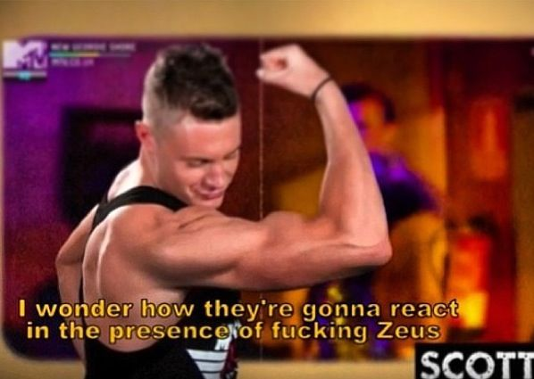 Every time i watch Geordie Shore i can't believe one person could be so ridiculous
