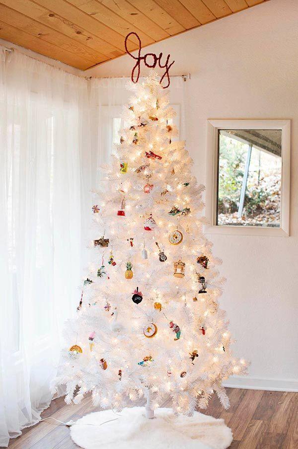 Luzes E Variedade Arvore De Natal Diy