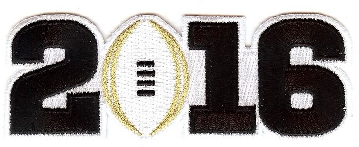 "This is the patch for the 2016 College National Championship Bowl game. As worn on field by the Alabama Crimson Tide players during the game. The patch measures approximately 1.5"" inches tall by 4.5"" inches wide. Patch comes fully packaged and sealed."