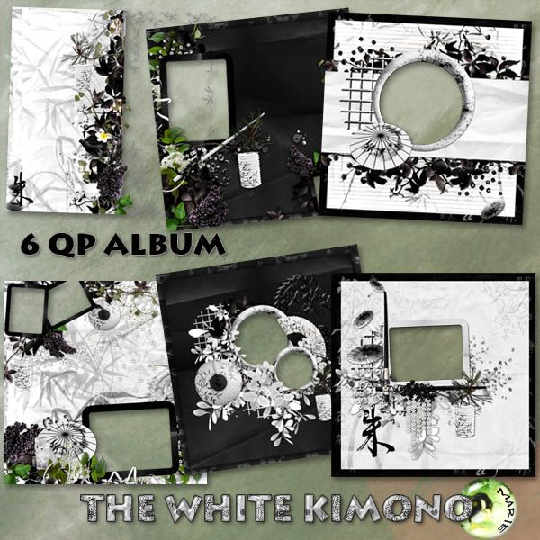 The White Kimono ALBUM by Marie