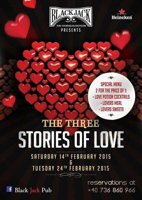 The three stories of Valentine's Day