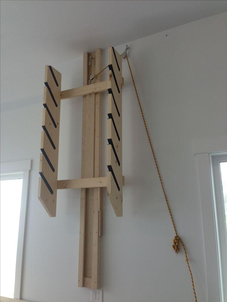 Ski rack / snow board rack | Projects - Woodworking | Pinterest