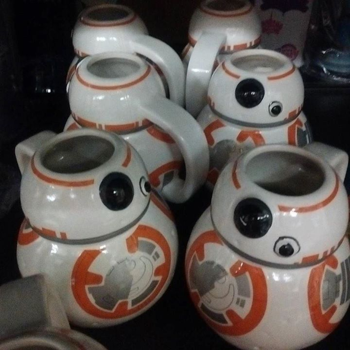#bb8 mugs. #starwars #fortressgeek #randomstock