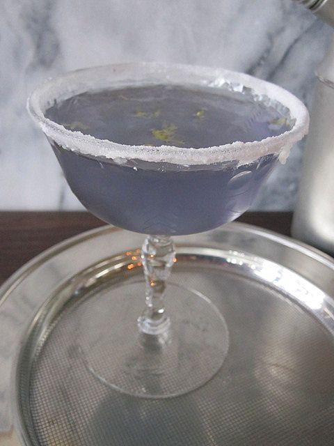 Lavender Martini-Drop