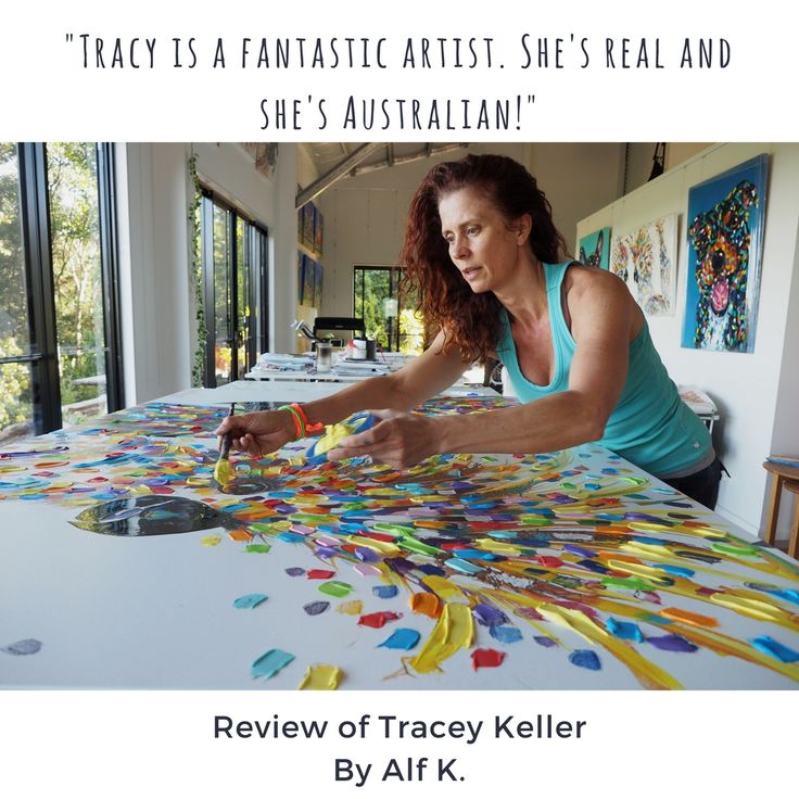 Thank you for the feedback, Alf.  #traceykeller #artist #gifts #interiordesign