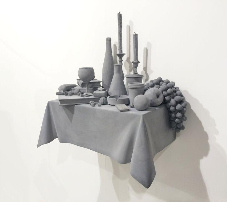 "Hans op de Beeck ""Vanitas variation 7"" 2015 #artbasel2015 #artbaselgalleries #artfair #artbasel #contemporaryart #artaddict #basel"