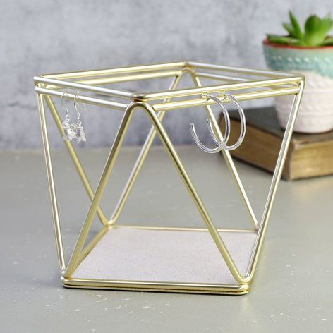 Umbra Gold Prisma Jewellery Stand At Accessories Pinteres