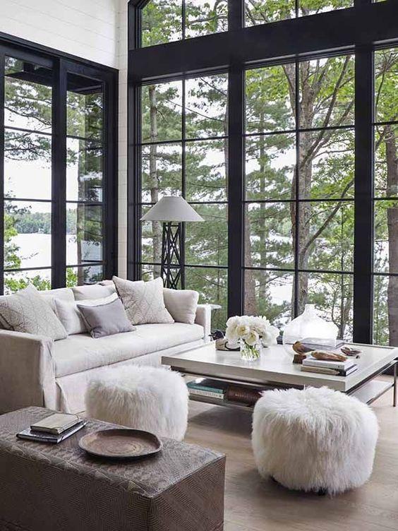 Best 25 black trim ideas on pinterest black trim for Cottage style interior trim