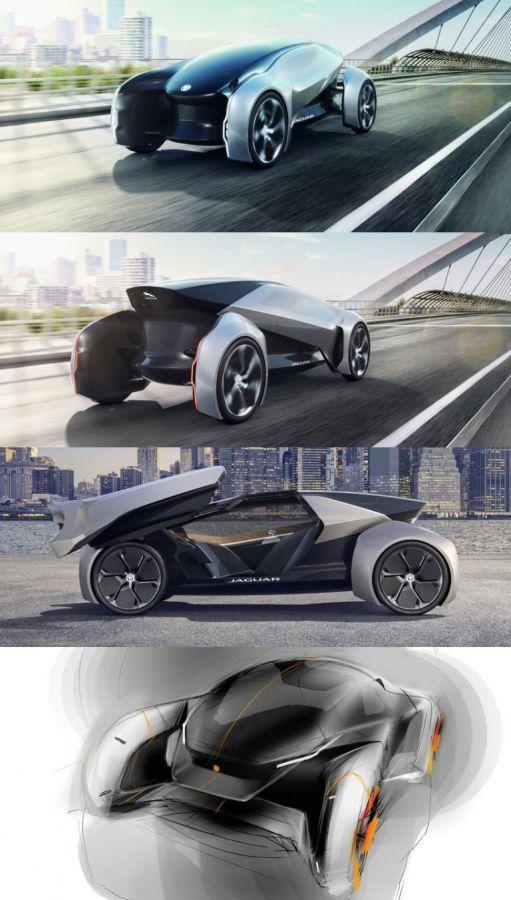 Jaguar – FUTURE-TYPE #ecar #transportdesign #transport #cardesign #design #automotive #transport #car #jaguar #future