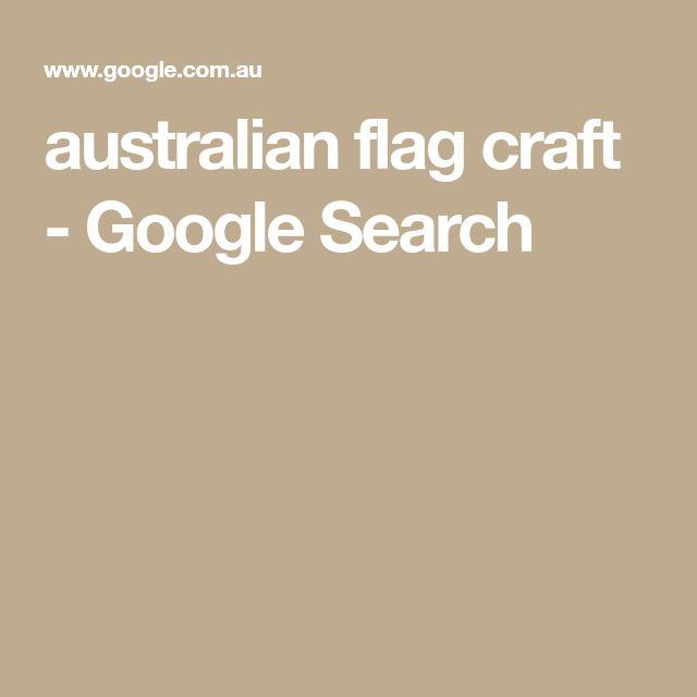 australian flag craft - Google Search