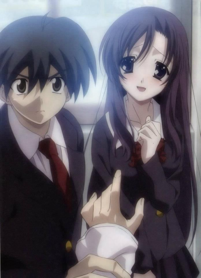 Katsura Kotonoha & Itou Makoto  School Days