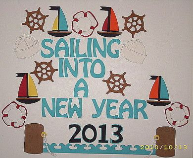 nautical bulletin board | Project 4: New Year 2013 (January)