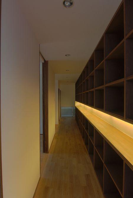 収納としての廊下