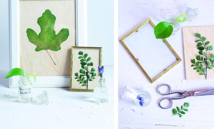 5 enkla sätt att skapa din egen konst hemma