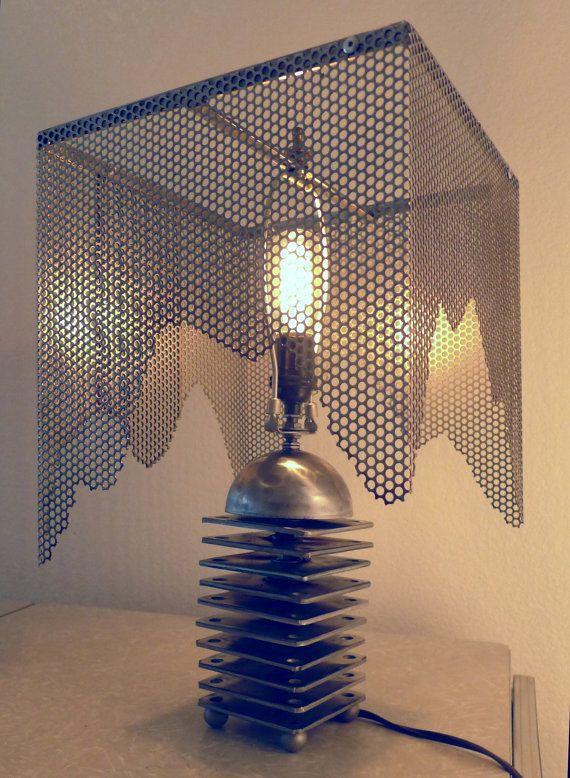 Industrial Handmade Steampunk Lamp by BillieBoi on Etsy