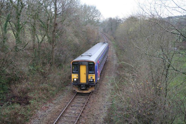 The Looe Valley Branch Line in the UK