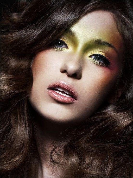 beautiful makeup..interesting concept